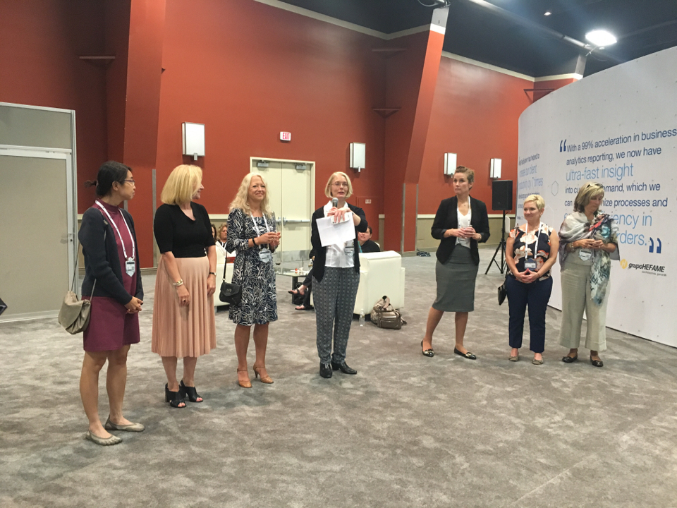 Women's expo at Edge, IBM Edge 2016