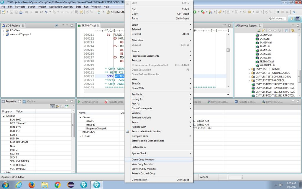 example 3, IBM IDE