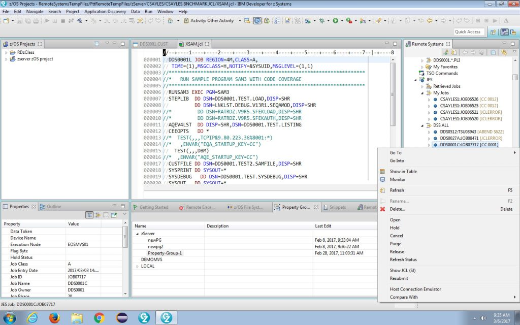 example 5, IBM IDE