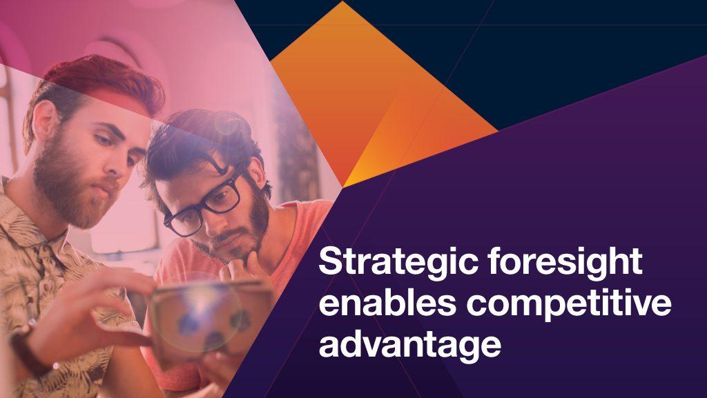 strategic foresight enables competitive advantage, Virtualize Mainframe