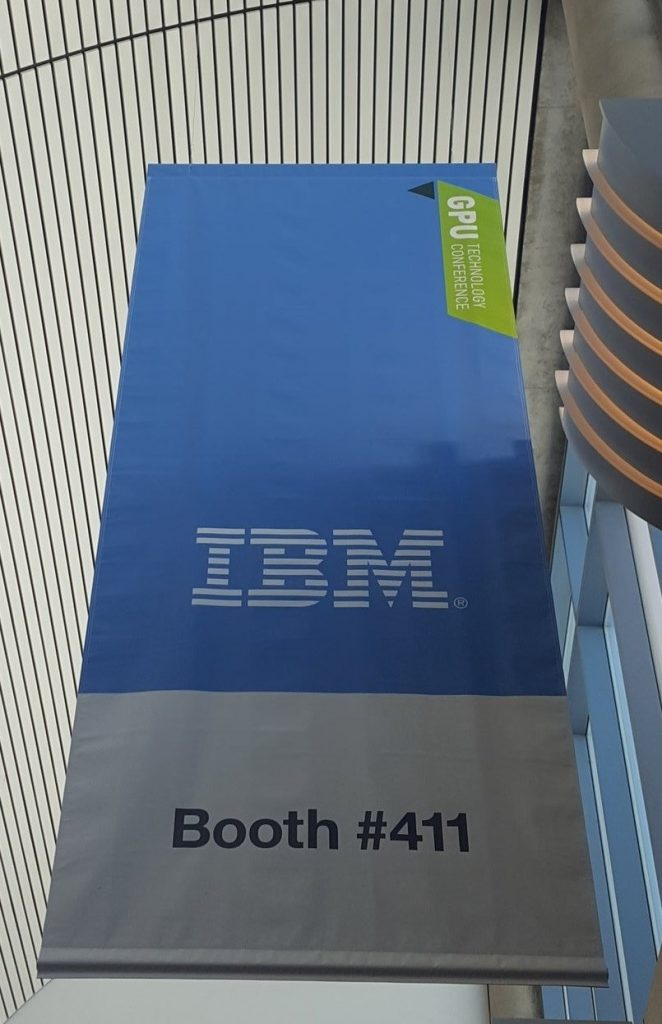 Booth #411 at IBM GTC