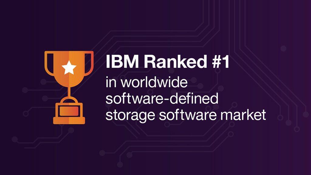 IBM is #1 in the worldwide software-defined storage software market, Storage Trends