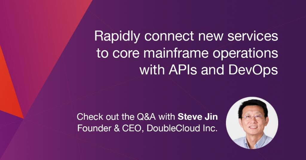 rapidly connect new services to core mainframe operations, Enterprise DevOps