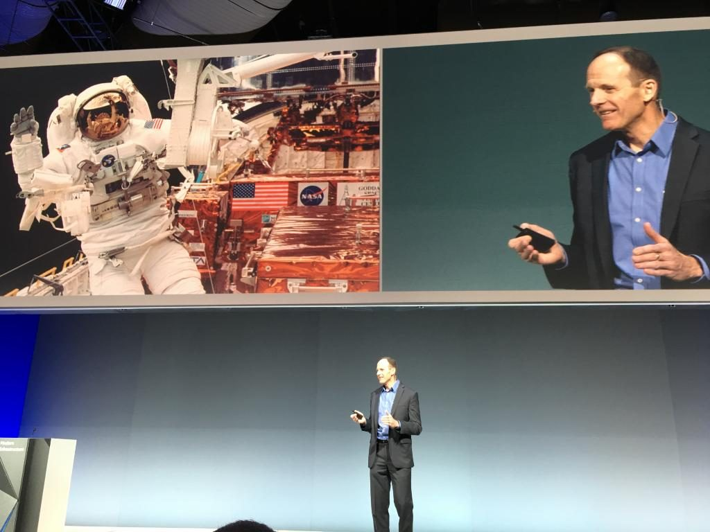 astronaut steve smith at think 2018, Recap IBM Think