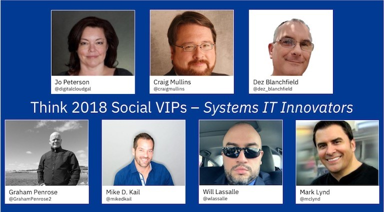 the IBM IT Innovators and Social VIPs, IBM Think 2018