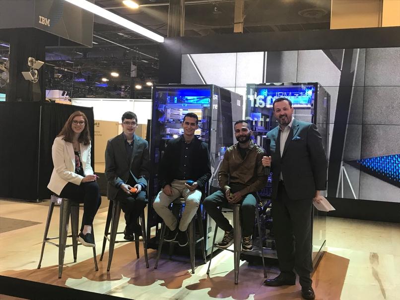 North America and Latin America winners of Master the Mainframe 2017 at IBM Think, Mainframe Skills