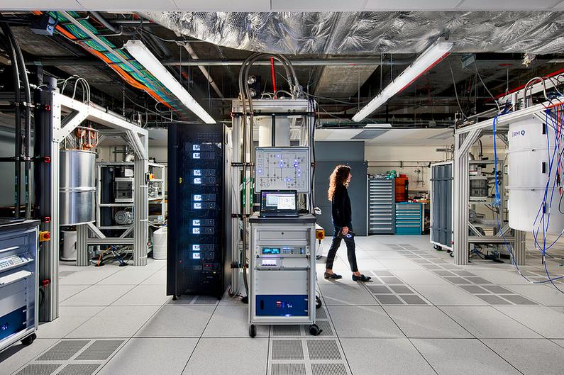 quantum computing center