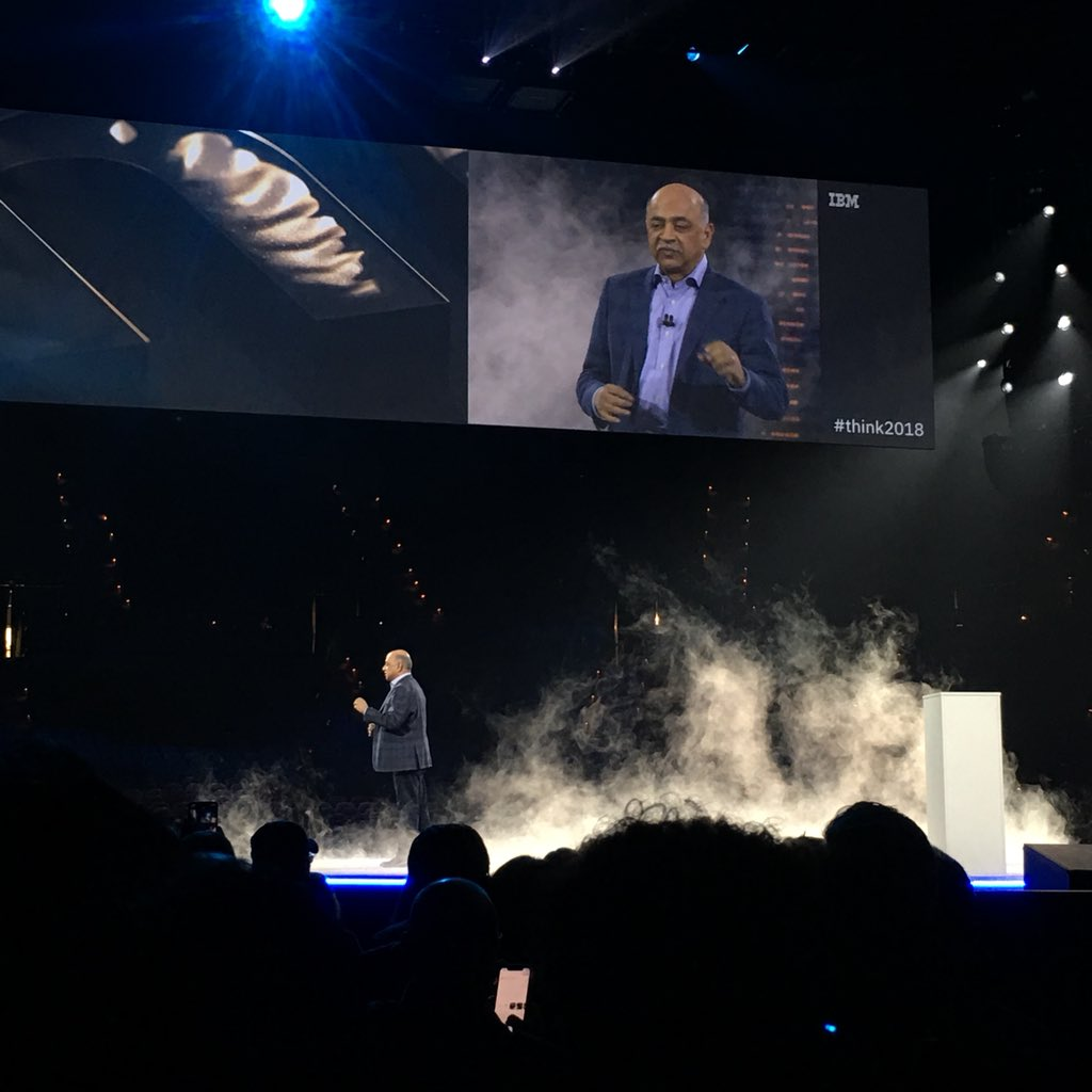 IBM Senior Vice President of Hybrid Cloud and Director of IBM Research Arvind Krishna, Recap IBM Think