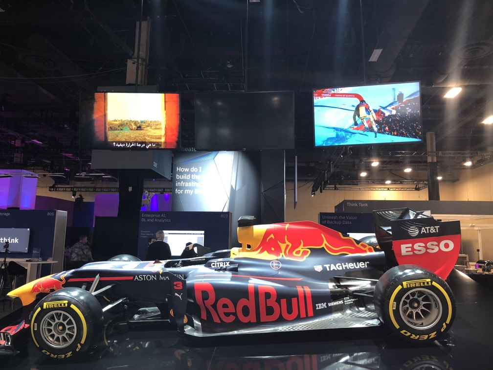 red bull race car, Think 2018