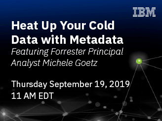 heat up your cold data with metadata