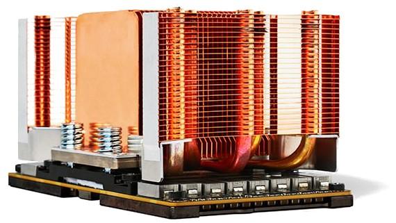 An NVIDIA SMX2 GPU module
