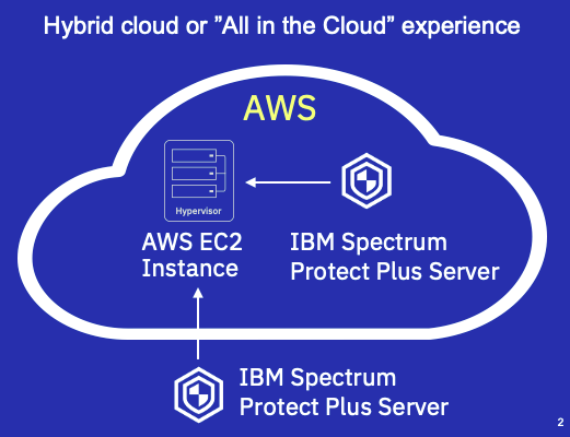 "hybrid cloud or ""all in the cloud"" experience"