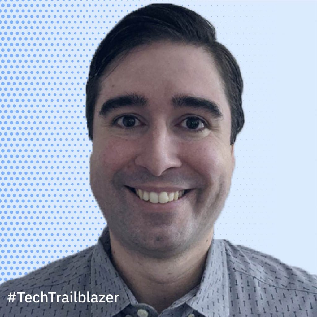 our tech trailblazer, Daniel Casali