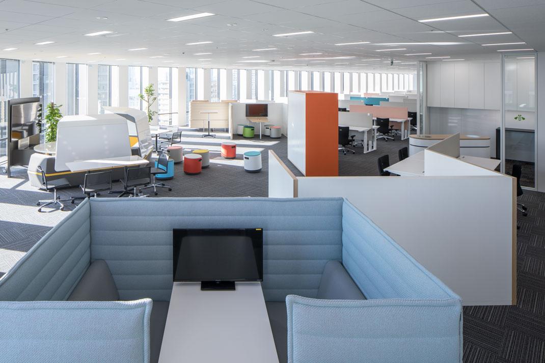 大阪事業所の新しいアジャイルなオフィスその2