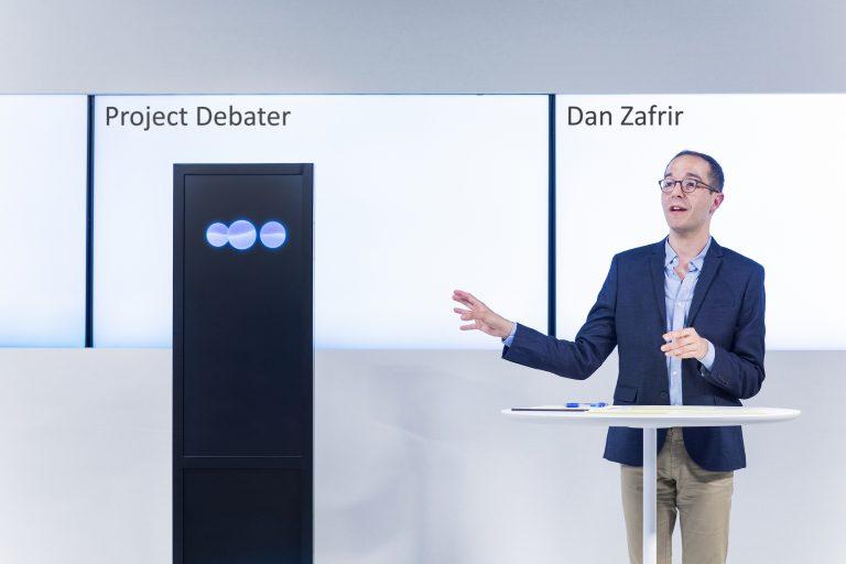 IBM Research AIのプロジェクト・ディベートの画像