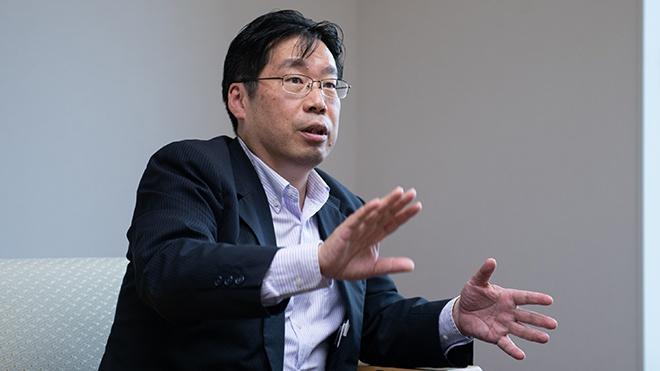 第一生命保険 ITビジネスプロセス企画部長 若山 吉史氏