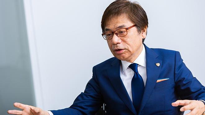 エスパルス 代表取締役社長 左伴 繁雄氏