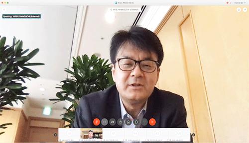 日本IBM 代表取締役社長 山口明夫