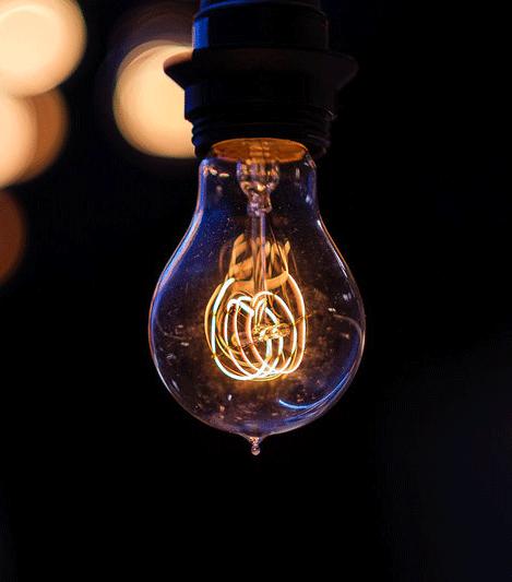 電球のフィラメントのイメージ