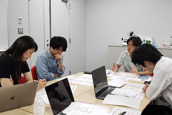松井研究室の様子 提供:松井加奈絵氏