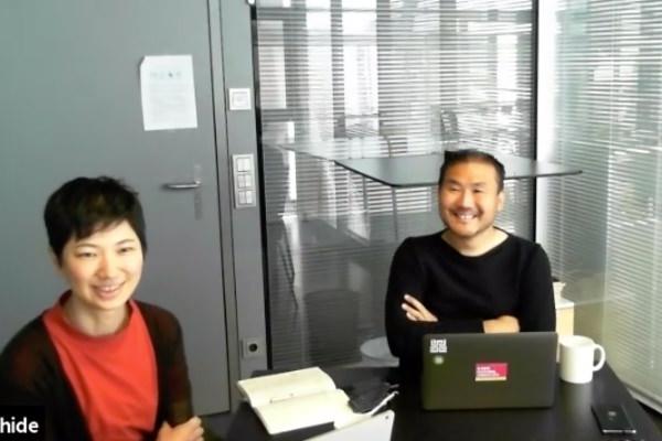 (左)小川絵美子氏、(右)小川秀明氏