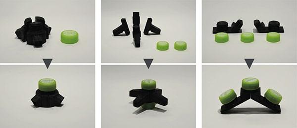 ペットボトルキャップを組立用のナットとしてアップサイクルする「CAPNUT」