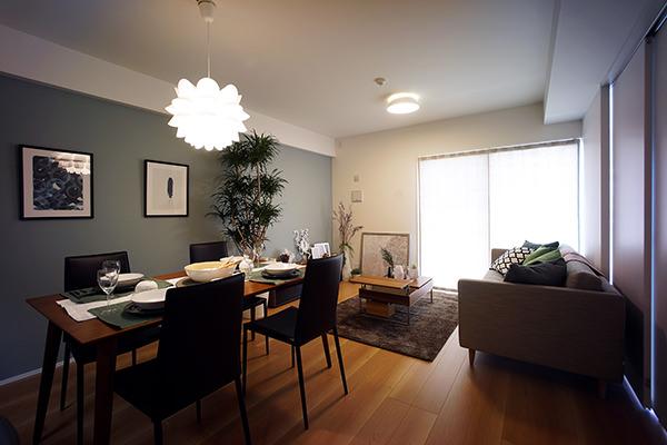 社宅を分譲マンションにリノベーションした事例
