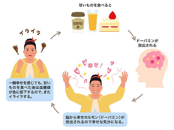 糖質中毒のメカニズム
