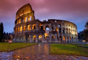 2014-01-Colosseum-Rome-Colorful-Wallpaper