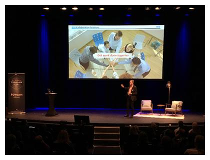 Digital Workplace Summit. Foto: Hannah Fahd, Summit and Friends.