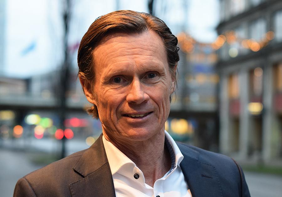 Johan Rittner, VD IBM Svenska AB