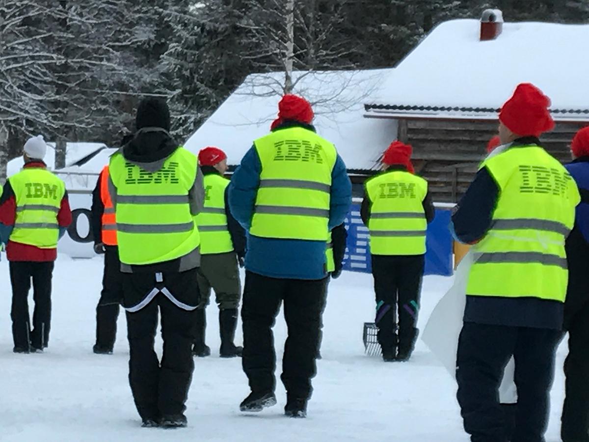 mer 50 år Mer än 50 år av samarbete mellan IBM och Vasaloppet   IBM Sverige  mer 50 år