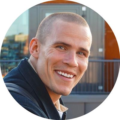 Erik Granholm, CMO på Eljun