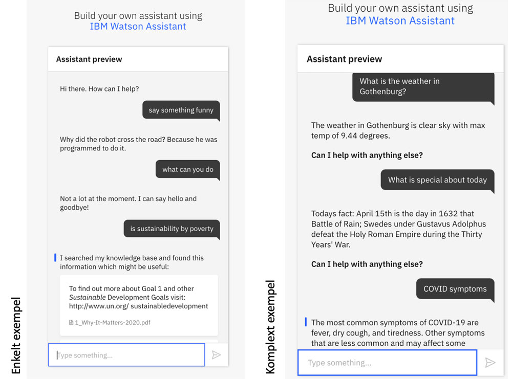 Build your own assistant using Watson assistant