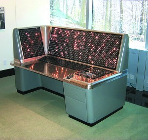 IBM's Selective Sequence Electronic Calculator, which operated from 1948 to 1952, had 12,500 vacuum tubes and more than 21,000 relays. The first computer to store data, the SSEC calculated positions of the moon and planets.