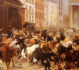 The Bulls and Bears in the Market, by William Holbrook Beard