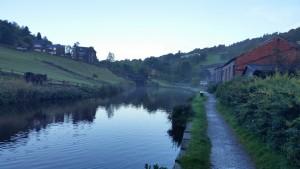 River Calder by Hebden Bridge, Yorkshire