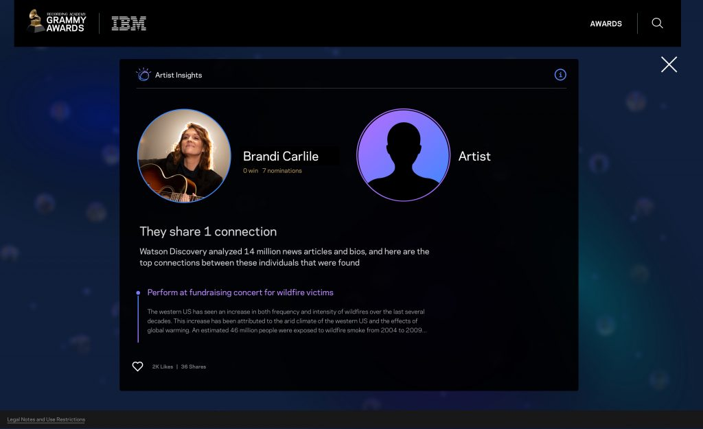 IBM Watson is Making Connections at the GRAMMYs - THINK Blog