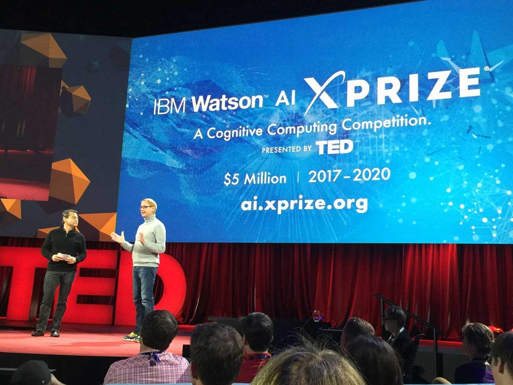 david kenny announces the Watson xprize