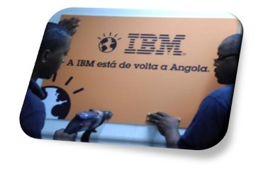 A IBM está de volta a Angola