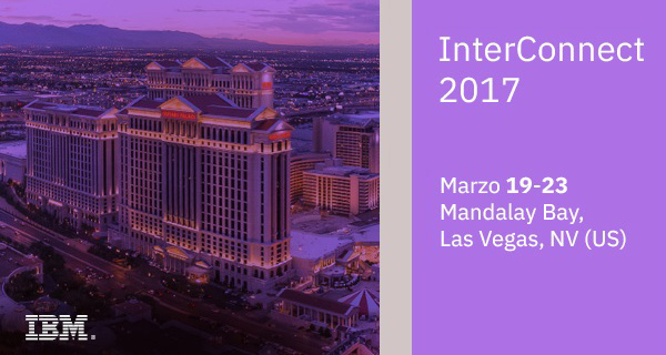 InterConnect 2017 Marzo 19-23 Mandalay Bay,Las Vegas,NV (US)