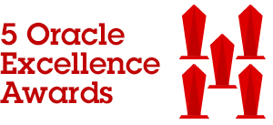 Five Oracle Titan Awards