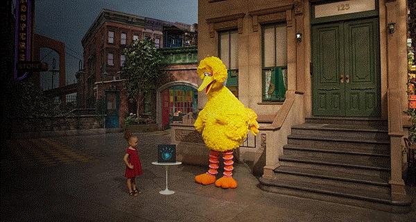 Watson on Sesame Street Sesame