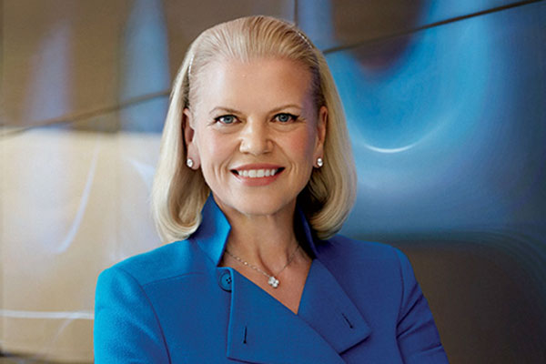 senior management ginni rometty