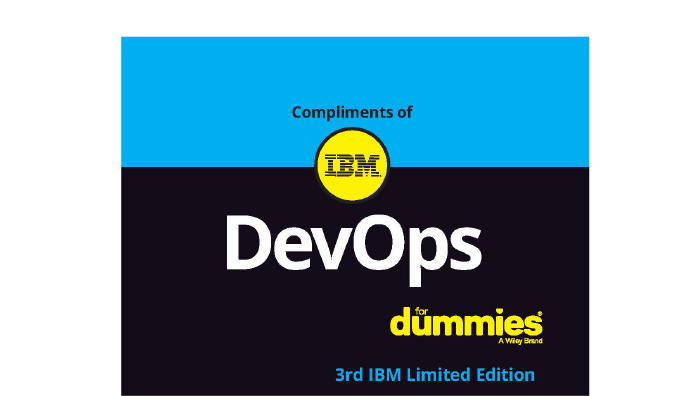 Thumbnail of cover of DevOps for Dummies book