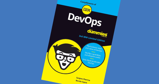 Thumbnail of cover of a book that introduces the concepts of DevOps