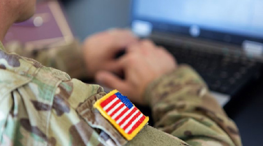 Image representing US Army staff accessing resources on a private cloud