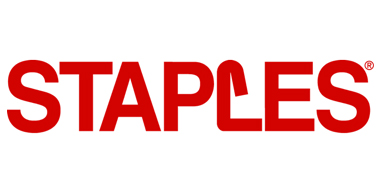 Case Study: Staples logo representing the case study of how the company used Bluemix to improve its ordering ecosystem.