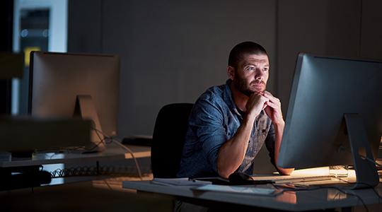 Generisches Foto, das für die Modernisierung von Unternehmensanwendungen als Schlüssel zur digitalen Transformation steht
