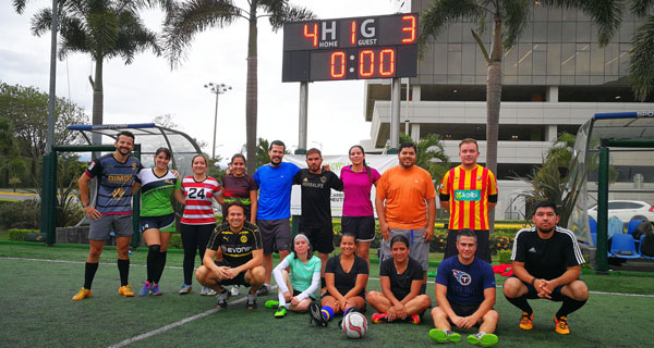 IBM Costa Rica celebra Sport Week 2018